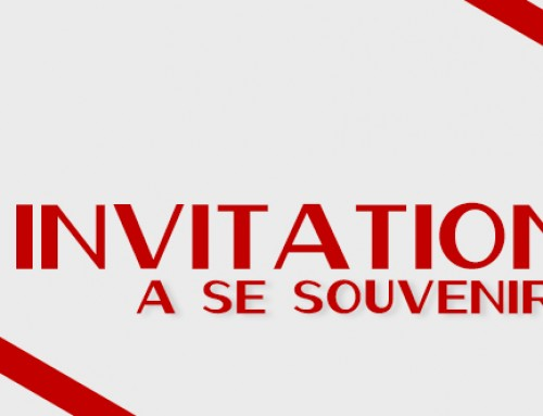 Invitation à se souvenir